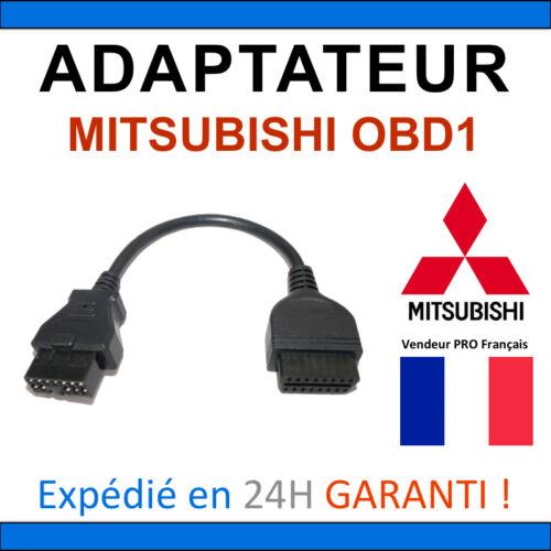 Valise OBD2 ELM327 DIAG Auto Adaptateur OBD2 vers MITSUBISHI OBD1
