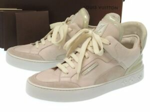 2473f939be77 Image is loading AUTHENTIC-LOUIS-VUITTON-x-Kanye-West-Dons-sneakers-