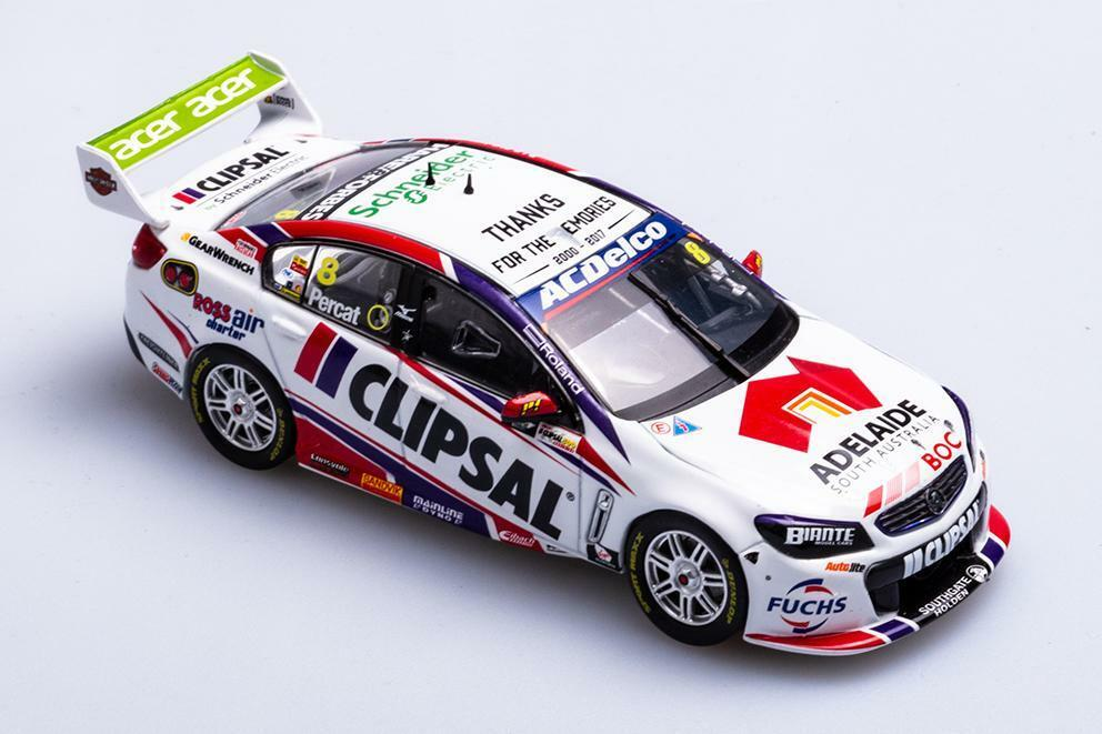 1 43 Biante - 2017 Clipsal 500 Holden VF Commodore - Brad jones Racing - Percat
