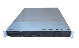 UXS-Server-1U-XEON-E3-1240-V3-3-4Ghz-HT-AES-4GB-RAM-4x-Caddy-Supermicro-X10SLM-F