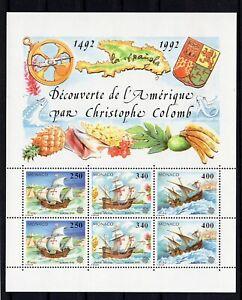 "Monaco: Bloc Subject "" Boats "" New N° 57 Value"