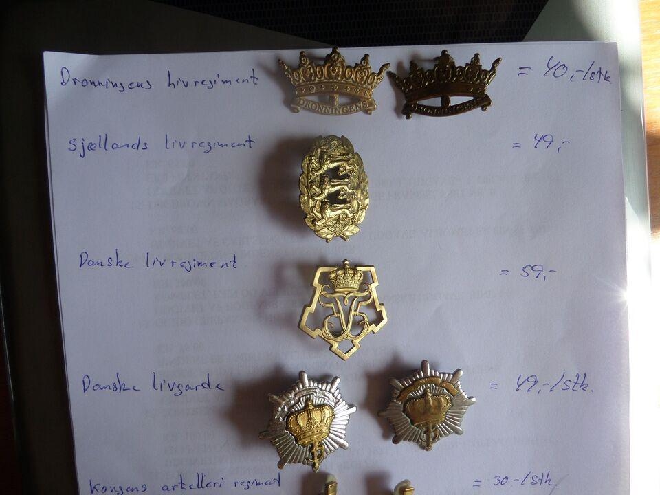Emblemer, MILITÆR EMBLEMER