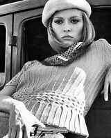 Bonnie and Clyde Faye Dunaway BW Pose 10x8 Photo