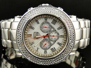 Hombre-Nuevo-Platino-Reloj-Co-Jojo-Jojino-Joe-Rodeo-con-Diamantes-PWC-JU109