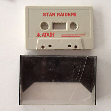 Star Raiders Atari K7 cassette (pour commodore? sinclair?)