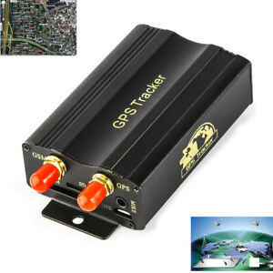 Vehicle Car GPS SMS GPRS Tracker Real Time Tracking Device Syatem Remote TK103A