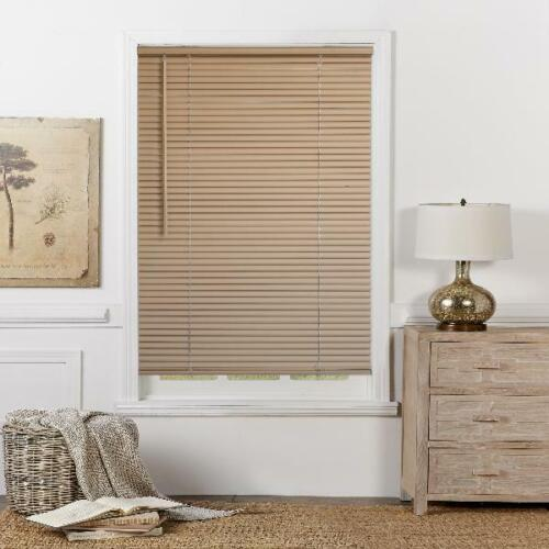 Window Blinds Sizes/' No Cords = No Tangles; EZ Install; Various Color Shades