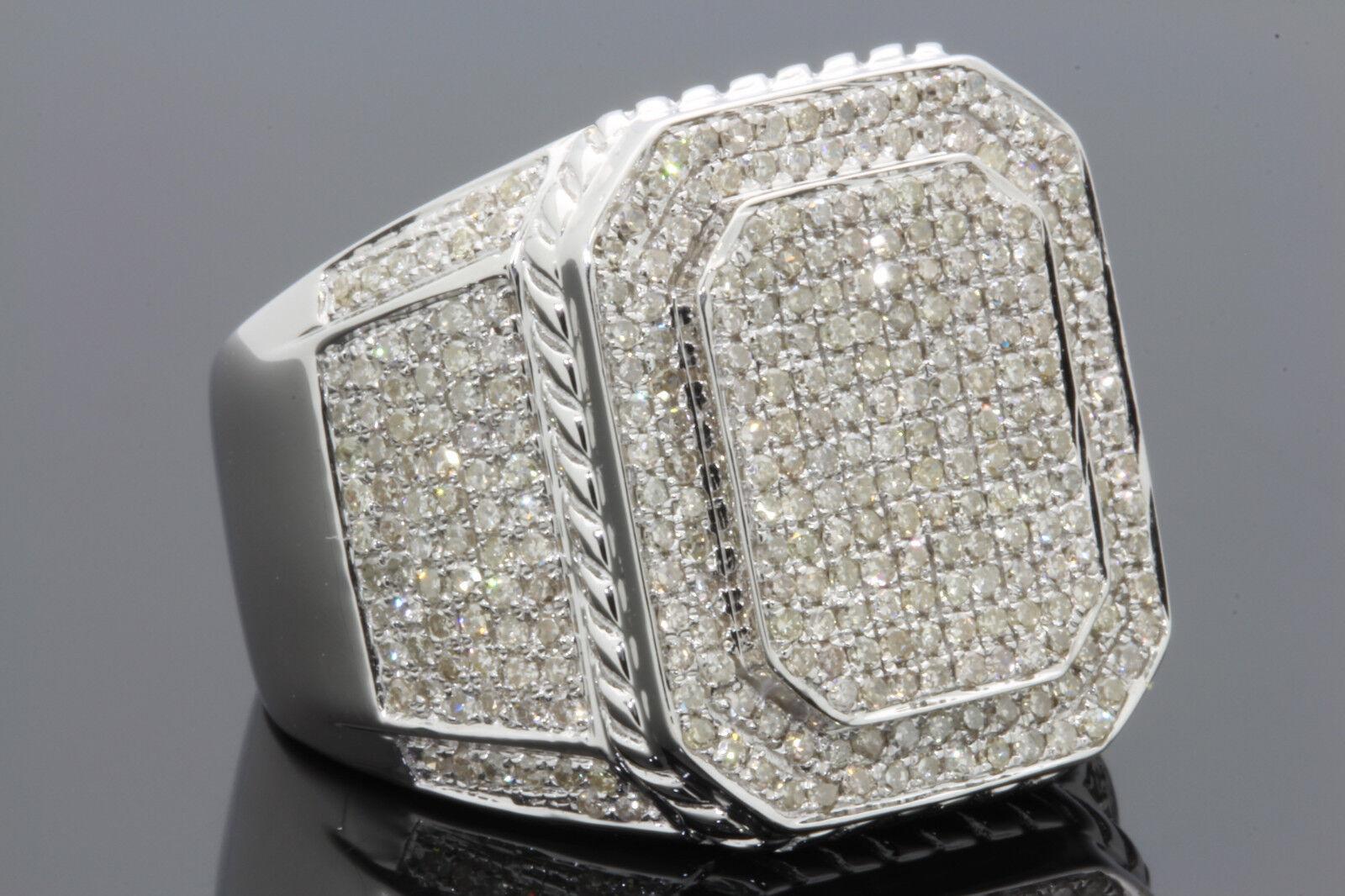 carat 100 genuine diamonds mens white gold finish. Black Bedroom Furniture Sets. Home Design Ideas