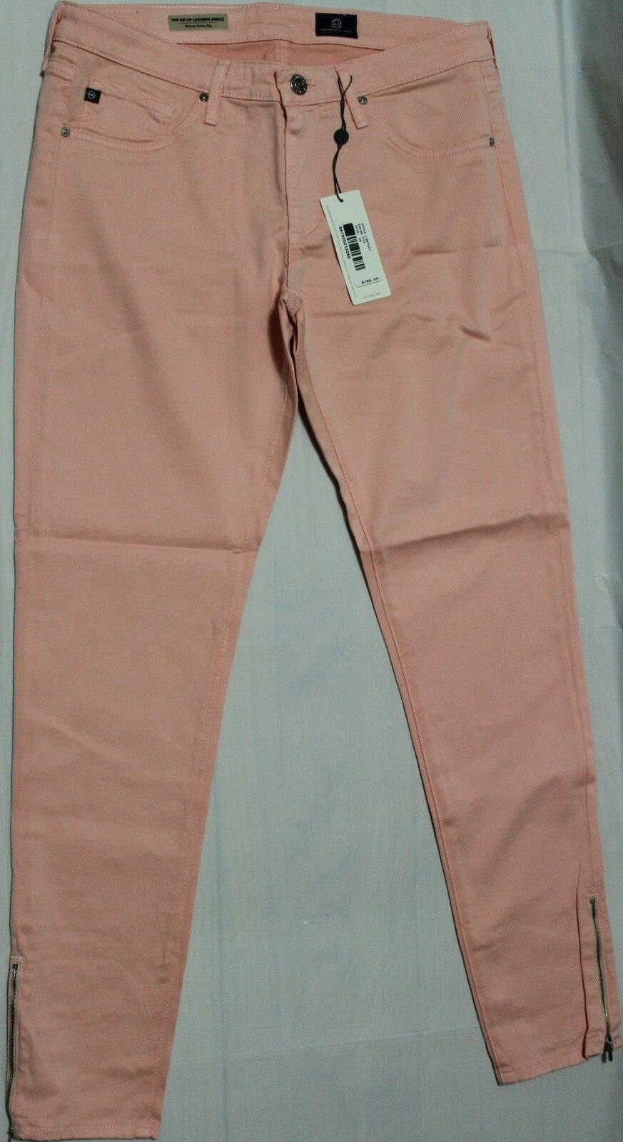 188 AG ADRIANO goldSCHMIED THE ZIP UP LEGGING SKINNY ANKLE JEANS US 29