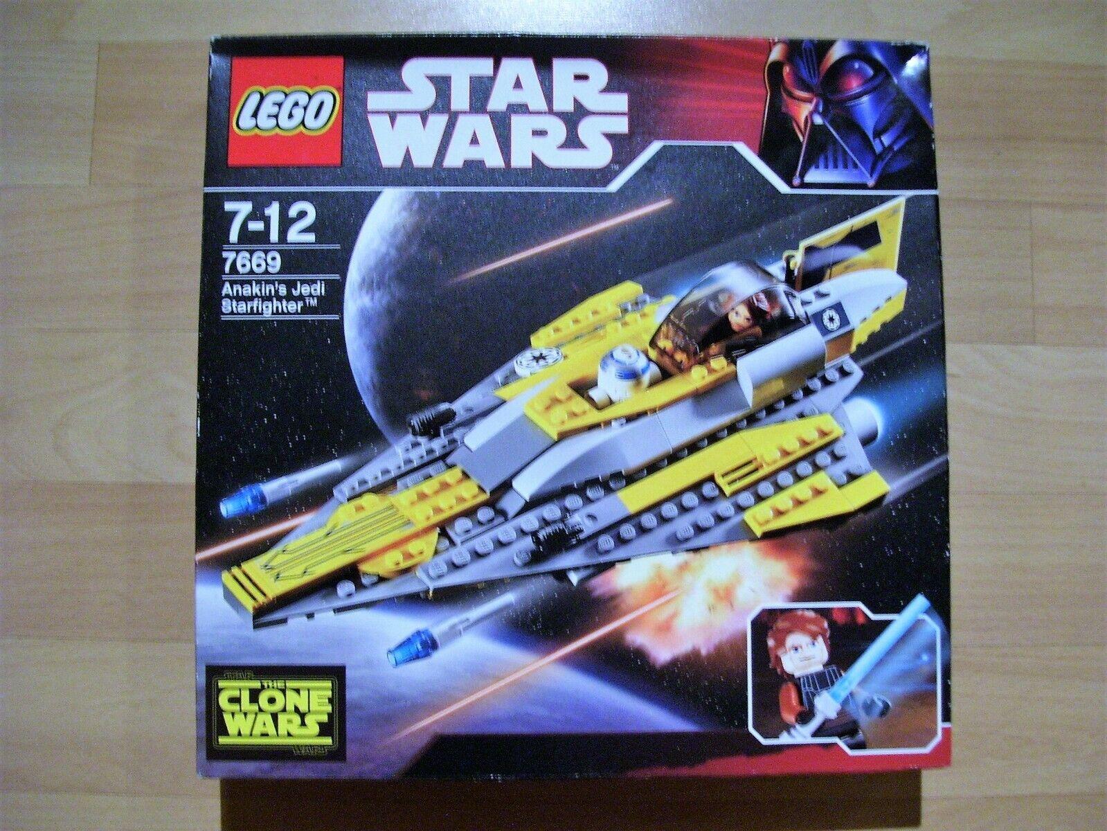 LEGO estrella guerras 7669-Anakin 's Jedi Diavolo-Nuovo Scatola  Originale-costruzione modulare -  migliore vendita