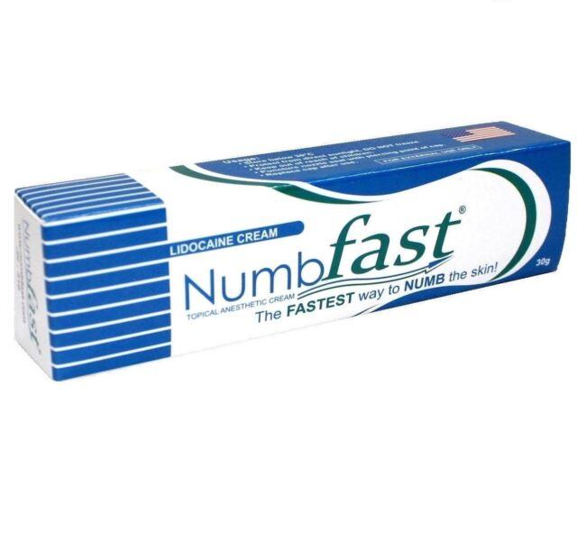 30g NUMBFAST 5 Anesthetic Skin Numbing Cream Numb Tattoo Laser ...