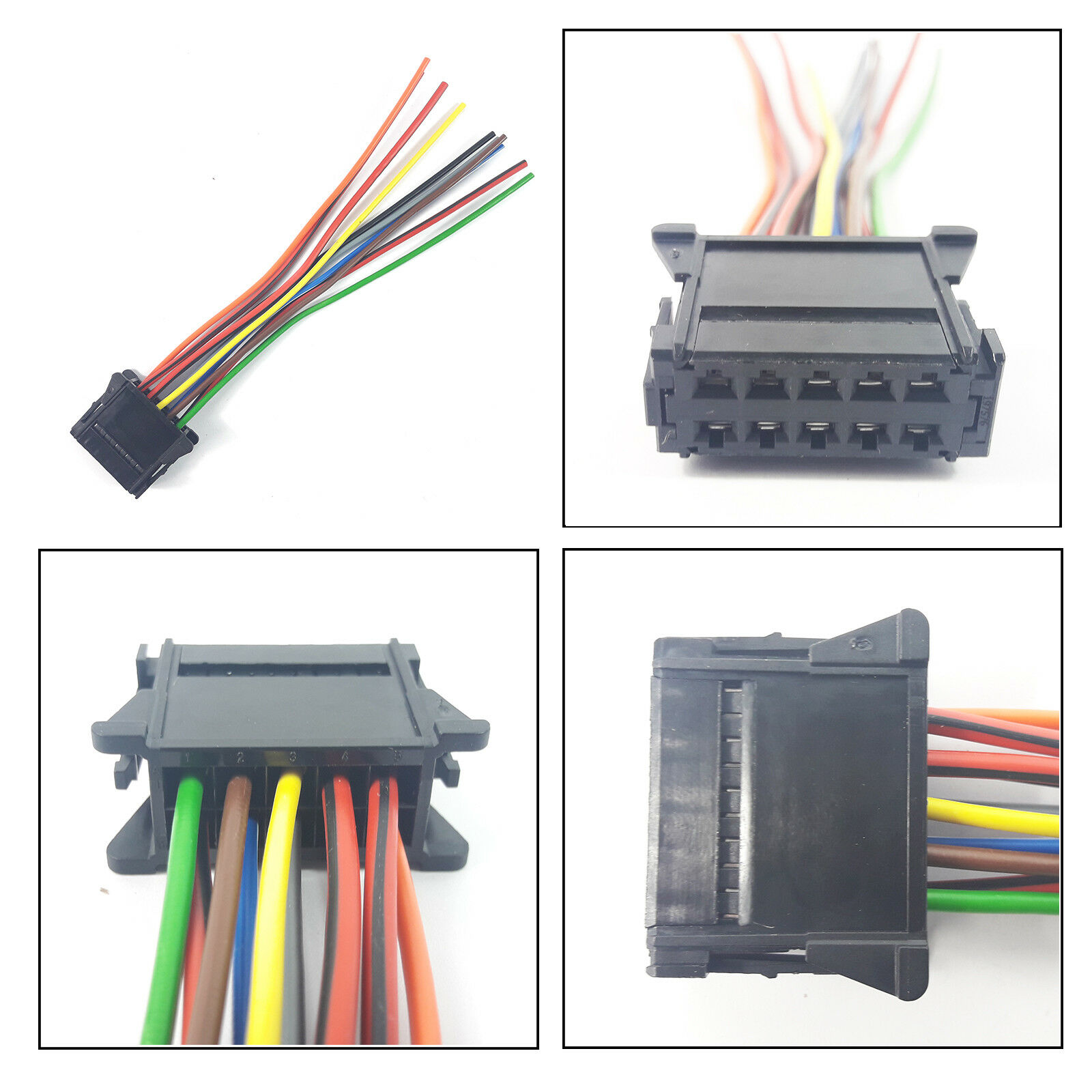 8 PIN CONNECTOR RENAULT EXTENSION WIRING HARNESS LOOM PLUG