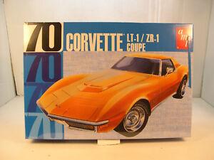 1970 Chevrolet Corvette Lt1 Zr1 Coupe Amt 1 25 Scale Plastic Model