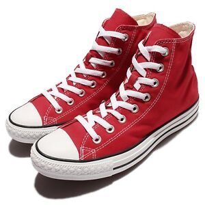 Dettagli su Converse Chuck Taylor All Star Red White Classic Casual Shoes  Plimsolls M9621C f14341a4bcb