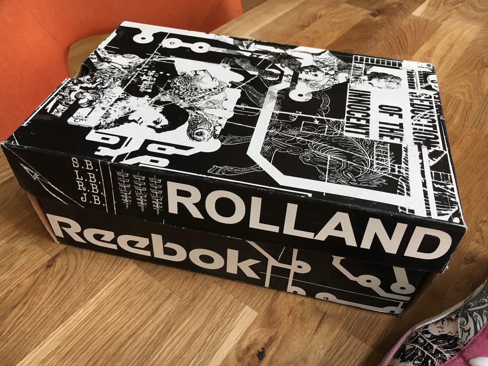 Reebok Sneakers - extrem coole Designer GR. Schuhe von Rolland Berry GR. Designer 44,5 28a1c0