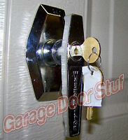 Wayne Dalton Garage Door Lock With 2 Keys -outside Lock Handle Assy. -