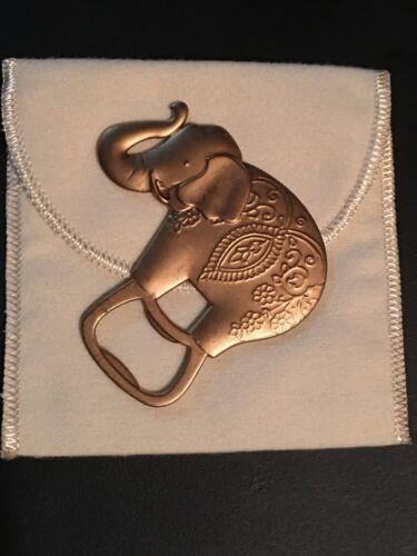 Kate Aspen Lucky Elephant Bottle Opener~ Nice Stocking Stuffer!