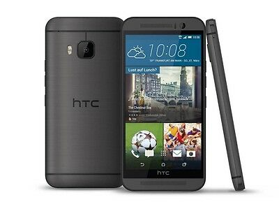 "5.0"" HTC One M9 Sprint Factory Unlocked 4G LTE Smartphone 20MP Gray/Gold 32GB US"