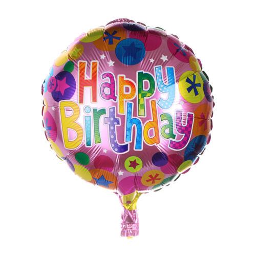 """18/"""" inch Happy Birthday Balloon Large Foil Balloons Ballon Kid/'s Birthday"""