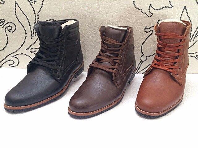 style alta señores Business forro invierno bota bota 's zapato bajo