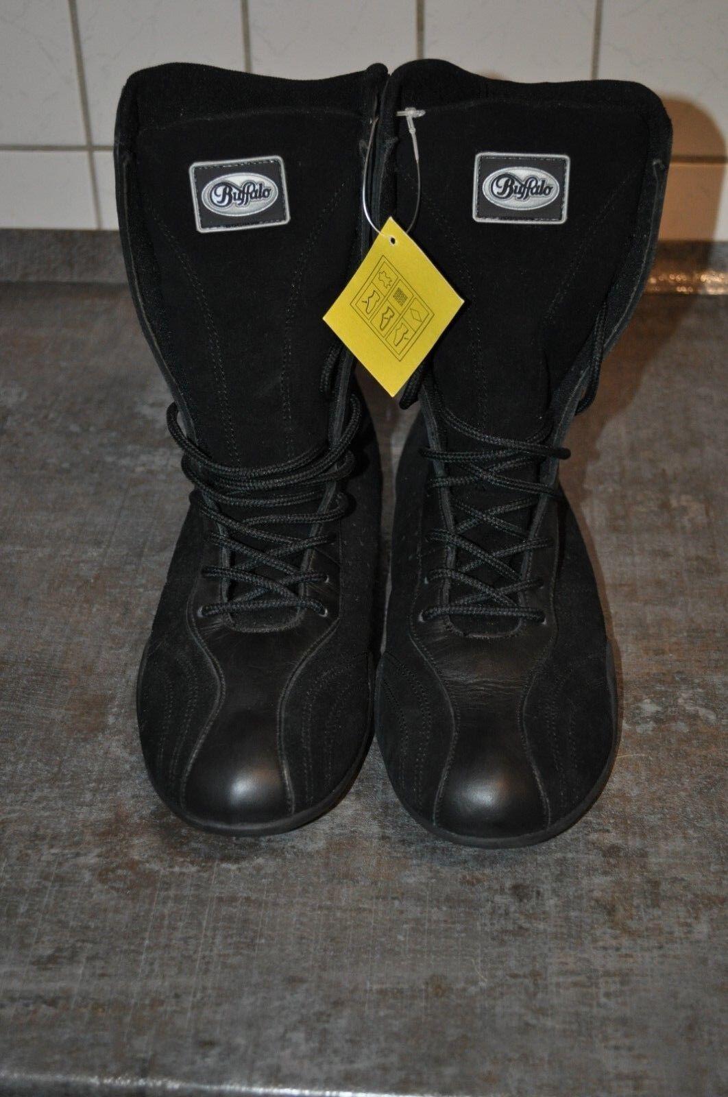 Buffalo High Top Stiefel Farbe schwarz schwarz schwarz Gr 41 ebedb8