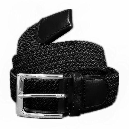 Unisex Flechtgürtel elastisch Damen Herren Strech Gürtel geflochten Stoffgürtel