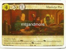 A Game of Thrones LCG - 1x Manderlys Plan  #088 - Auf Befehl des Kapitäns