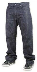 RVCA Chop Shop Denim Pant (26) Raw Blue