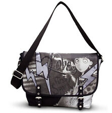 NEW Disney Store Frankenweenie Crossbody Messenger Roomy Carry All Tote Bag
