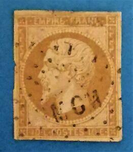 Timbre : EMPIRE NON DENTELE N° 13 I d,OBLIT.( TB N° 833-1) Los. Bureau Amb.MCM