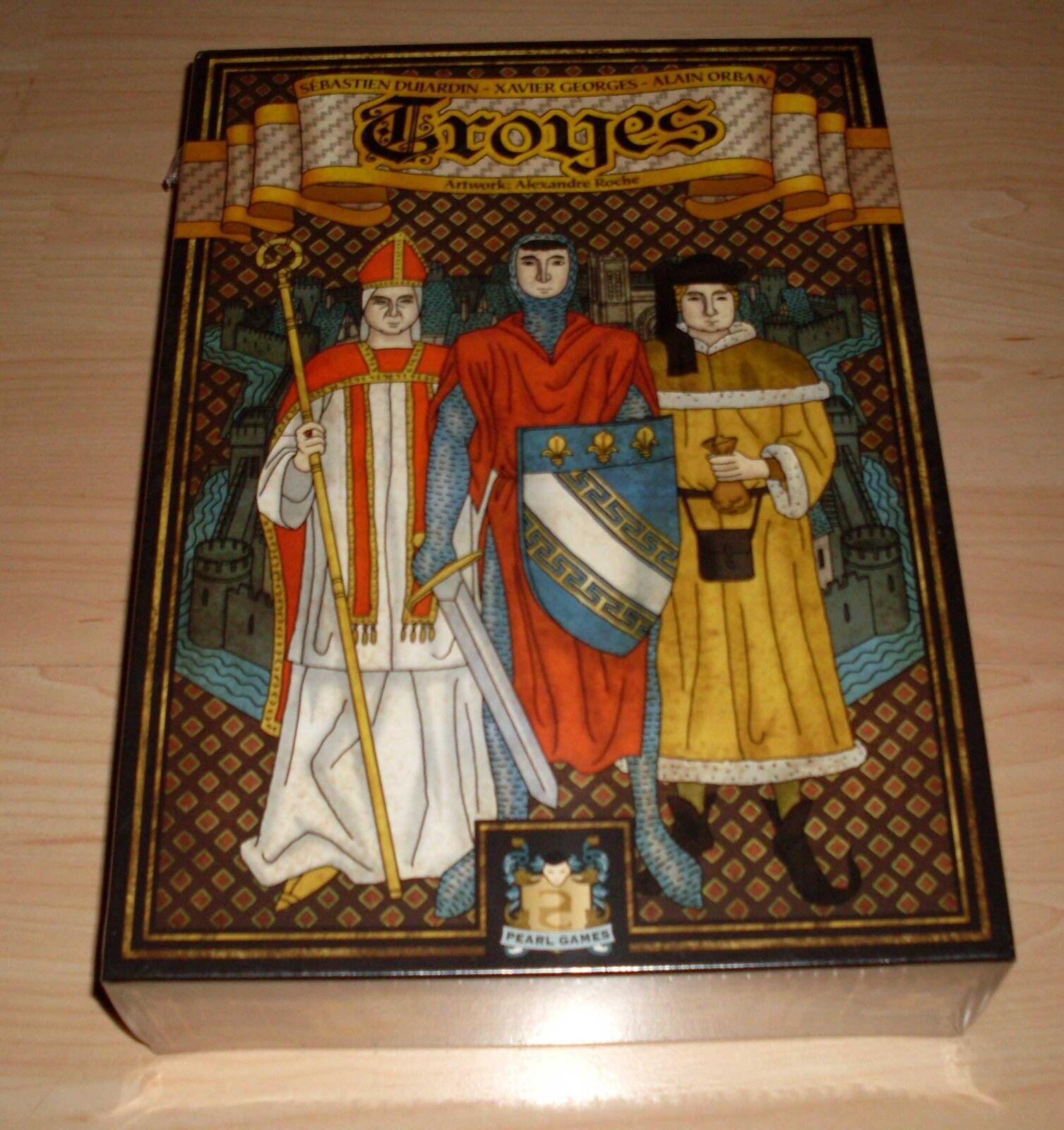 Troyes - Pearl Games - Gesellschaftsspiel - Brettspiel - Alexander Roche Neu OVP