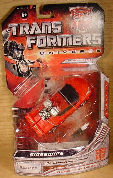TRANSFORMERS Universe SIDWSWIPE Red Sports car Classic G1 MOC
