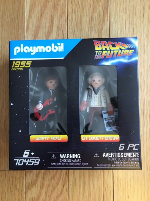Back To The Future - Marty McFly And Doc Brown 1955 Edition - Playmobil 70459