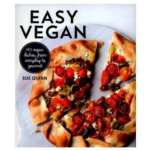 Easy Vegan by Sue Quinn, Victoria Wall Harris (illustrator)