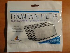 NEW-REPLACEMENT-3-PACK-FOUNTAIN-FILTER-BY-PIONEER-PET-3003