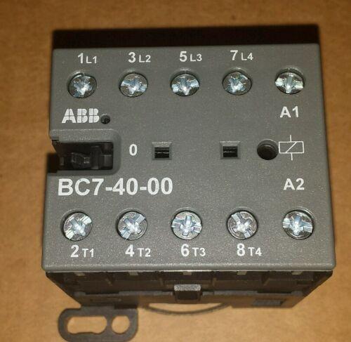 ABB BC7-40-00 16A 600VAC MINI CONTACTOR  NEW