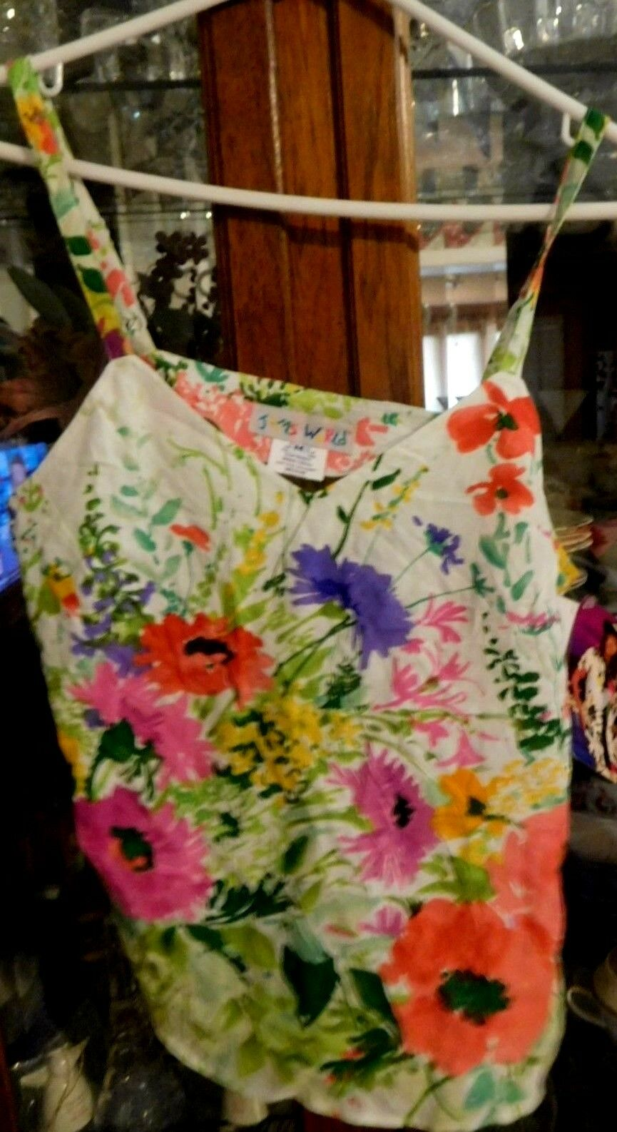 Jams World RARE Hawaiian NEW NWT Cottage Bouquet Cami top S Out of Production