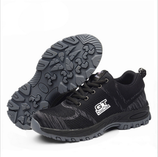 Safety Shoes Steel Toe Shoes for Men