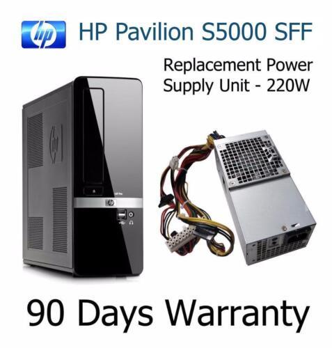PSU 504965-001 PC8044 HP Pavilion S5000 Replacement 220W Power Supply Unit