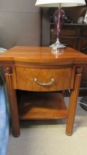 Jot Lot 8 x Light Wood Bedside Cabinet with 1 Top Single Drawer and Shelf below