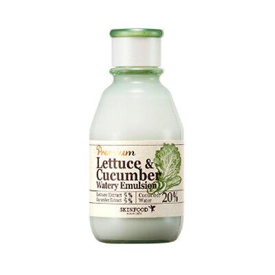 [SKINFOOD] Premium Lettuce&Cucumber Watery Emulsion - 140ml