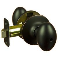 Hensley Oil Rubbed Bronze Privacy Egg Door Knob (bed & Bath)