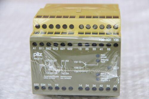 Pilz not-de-dispositivo de conmutación pnoz 15 24vdc 3n//o 1n//o 1n//c 774050 nuevo