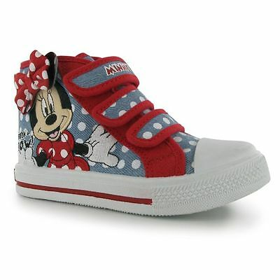DISNEY MINNIE MOUSE CANVAS SCHUHE SNEAKERS 20/21/22/23/24/25/26/27/28/29/30/31
