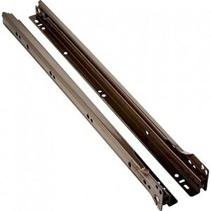 Brown Epoxy Coated Euro Drawer Slides 16 Inch Price per Set 18 Available