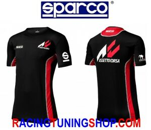 SPARCO T-SHIRT GAMING ASSETTO CORSA - MAGLIA MANICA CORTA SPARCO GAMING