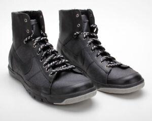 Details zu NIKE Blazer Mid High Neu Gr:38 Black Schwarz Sneaker Damen Herren Kinder Stoff