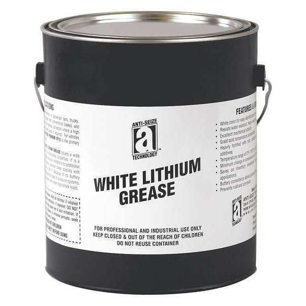 Anti-seize Technology 24205 Lithium Grease Lithium Complex 5 LB Plastic  Pail White