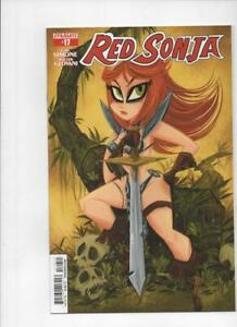 RED-SONJA-17-NM-She-Devil-Sword-S-Buscema-2013-2015-more-RS-in-store
