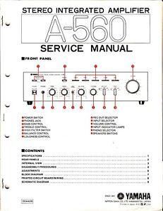 on yamaha amp schematic
